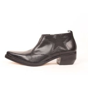 TOMMY HILFIGER Leather Pointed Toe Ankle Boots 7.5